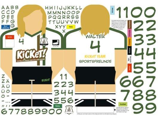 Sticker of the standard KiCKeT! teams...