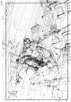 Original Pencil and Ink pages from Artist Ralf...