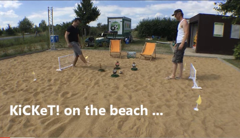 KiCKeT! am Strand!