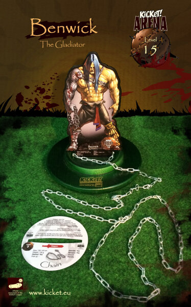 Benwick - The Gladiator - (Humanoid)