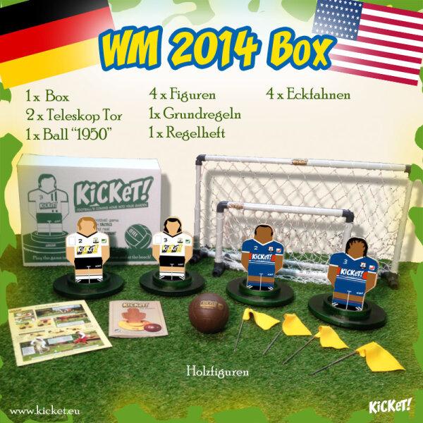 KiCKeT! - WM 2014 Box (Germany - USA)