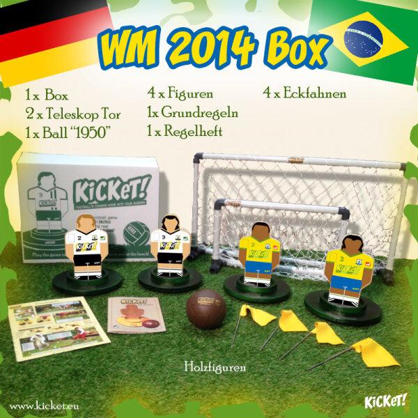 KiCKeT! - WM 2014 Box (Germany - Brasil)