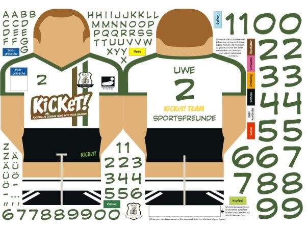 Fieldplayer Sticker