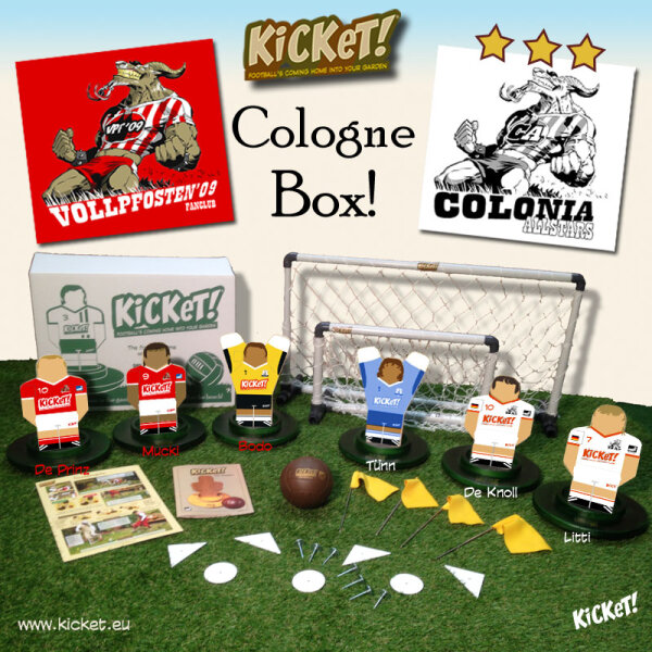 KiCKeT! - Cologne Standard Box (Vollpfosten 09 - Colonia Allstars)