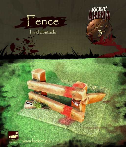 Fence (hard obstacle)