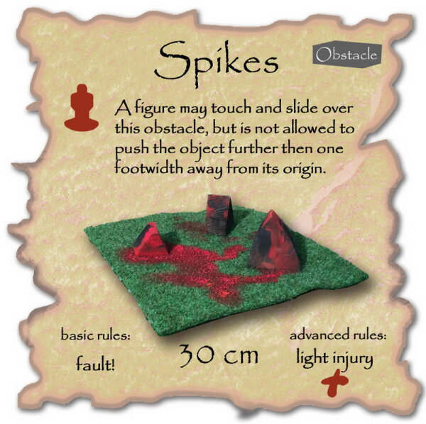 Spikes (soft obstacle)