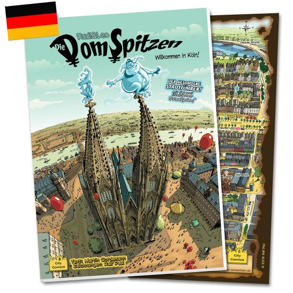 Die DomSpitzen - (DEUTSCH) Köln-Comic, Geschichtsbuch und Stadtführer