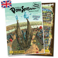 Die DomSpitzen - (ENGLISH) Köln-Comic, Geschichtsbuch und Stadtführer