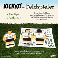 Fieldplayer with sticker